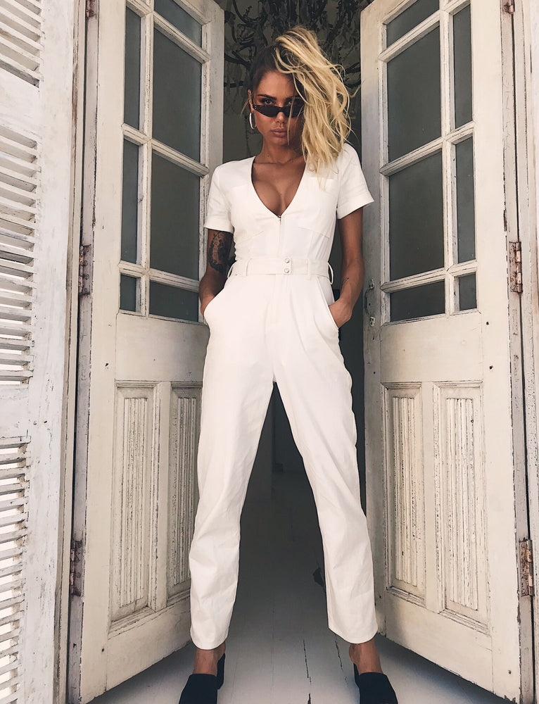 cd6f7e75dc9 Buy Our Phillipa Jumpsuit in White Online Today! - Tiger Mist