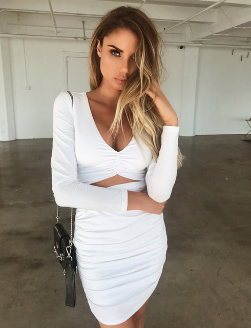 Sian Dress - White