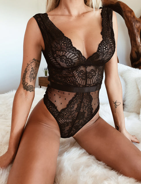 Kahlua Bodysuit - Black