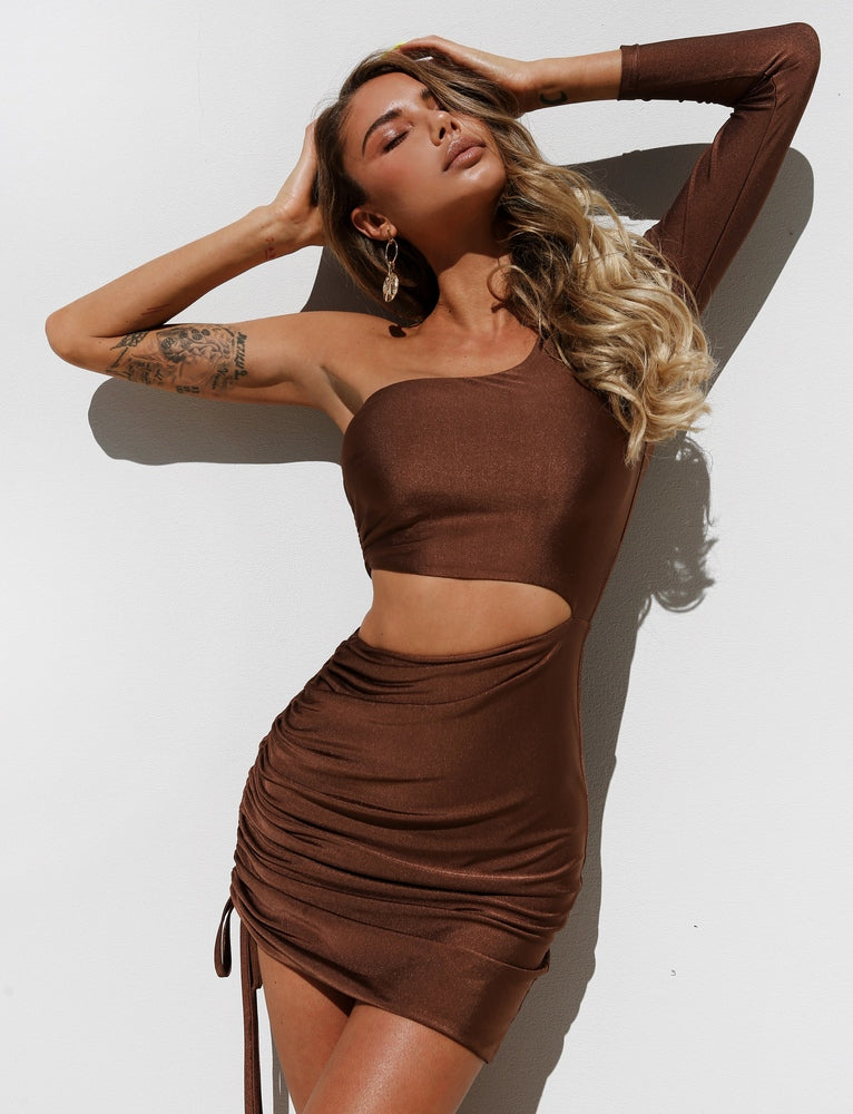 Skyla Dress - Chocolate