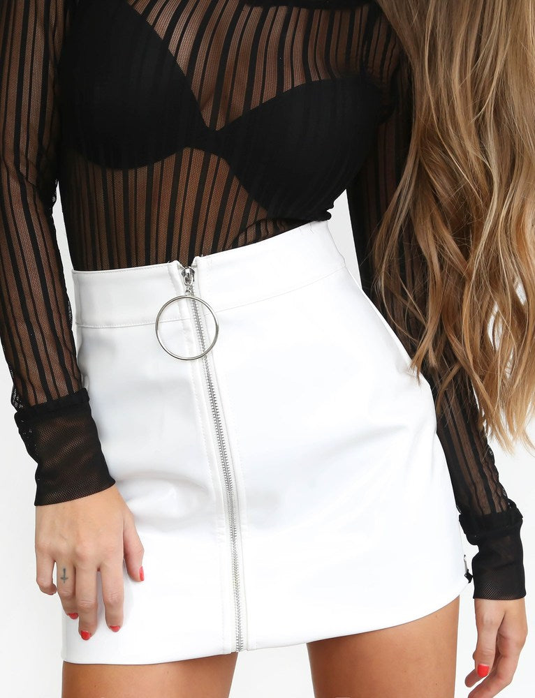 Tash Skirt - White