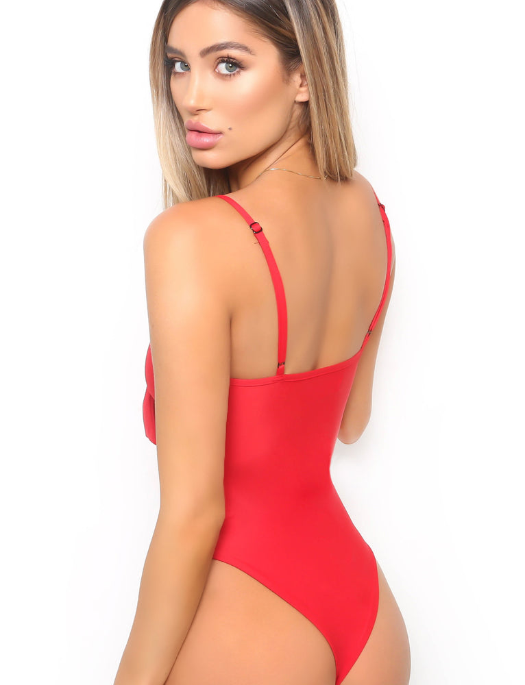 Pretty Thing One Piece - Red