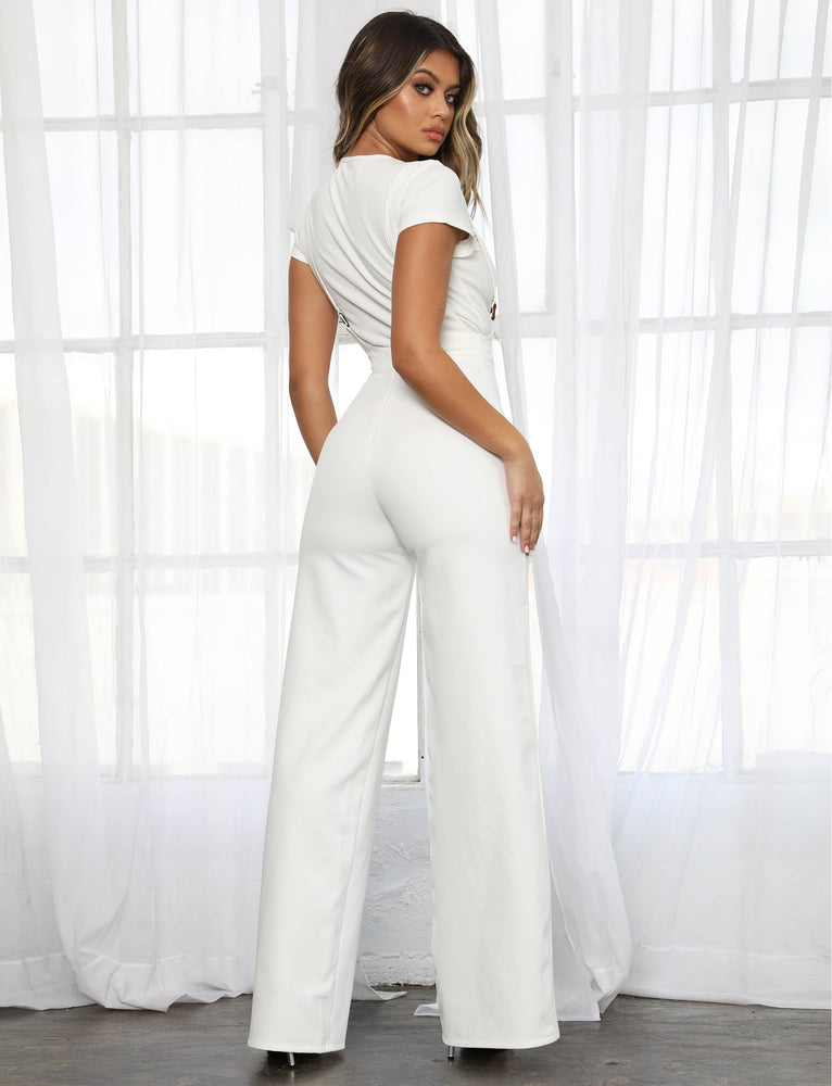 82b29efe15d Buy Our Lewis Jumpsuit in White Online Today! - Tiger Mist
