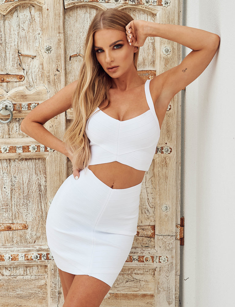 Milan Skirt - White