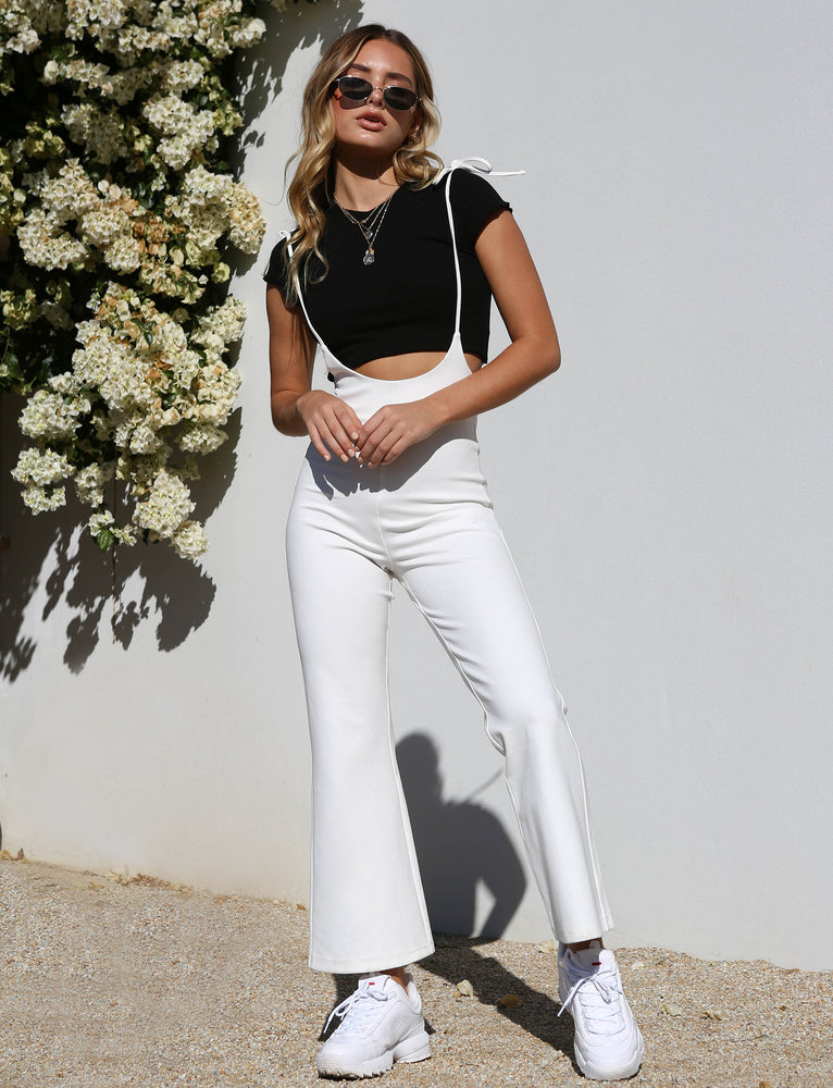 Seattle Jumpsuit - White