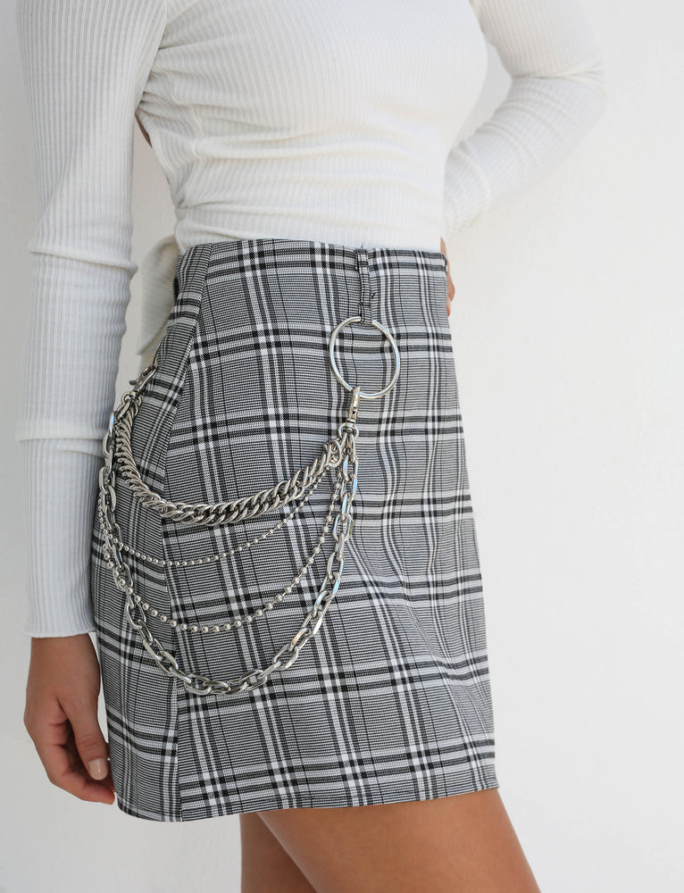 Madison Skirt - Plaid