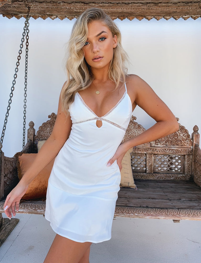 Mahlia Dress - White