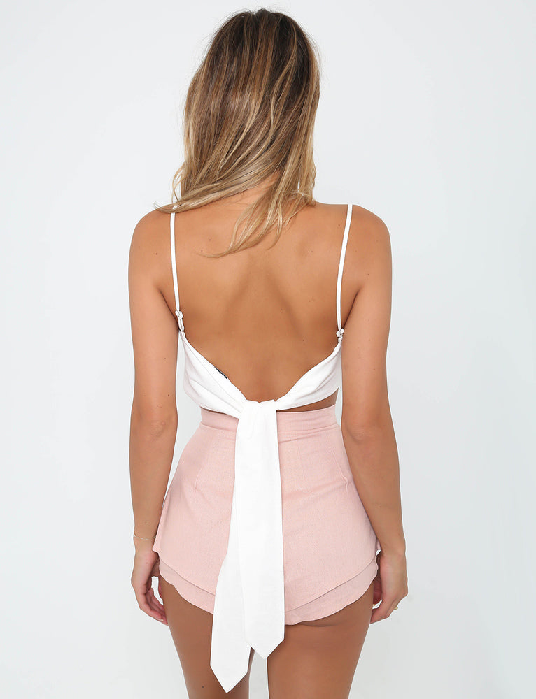 Caz Shorts  - Blush