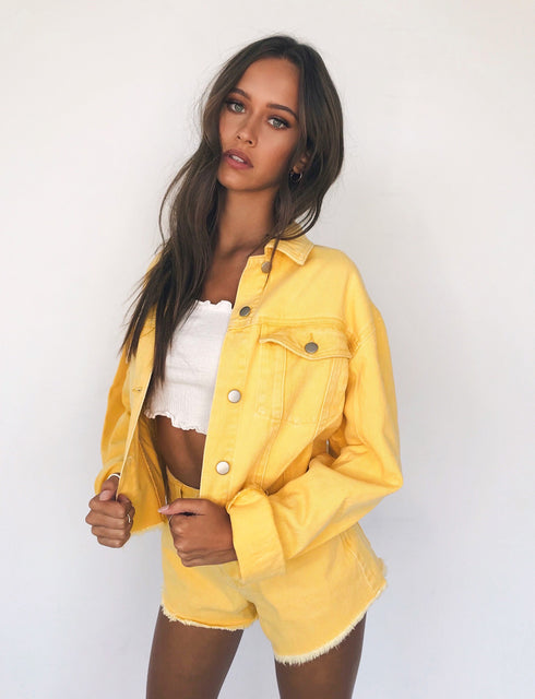 Jesse Jacket - Yellow