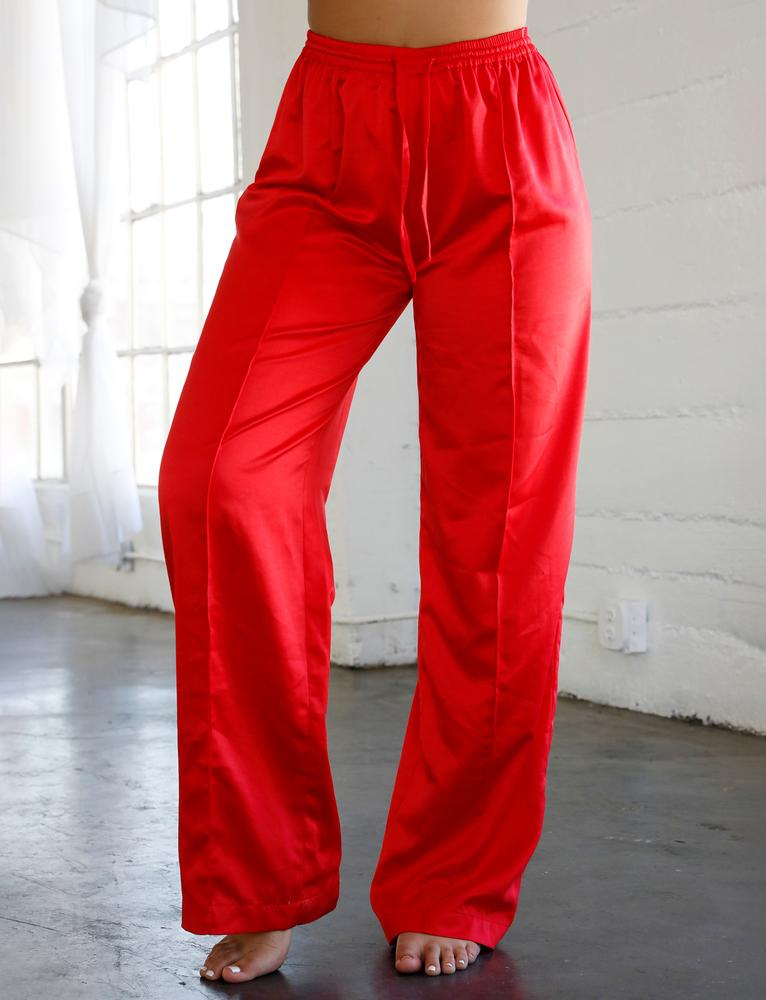 Venus Sleep Pant  - Red