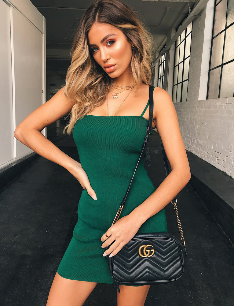 Slim Love Dress - Green