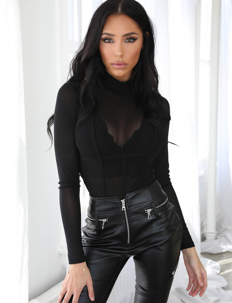Leslie Bodysuit - Black