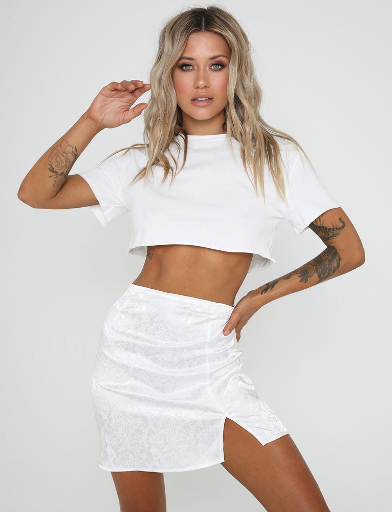 Dreams Skirt - White