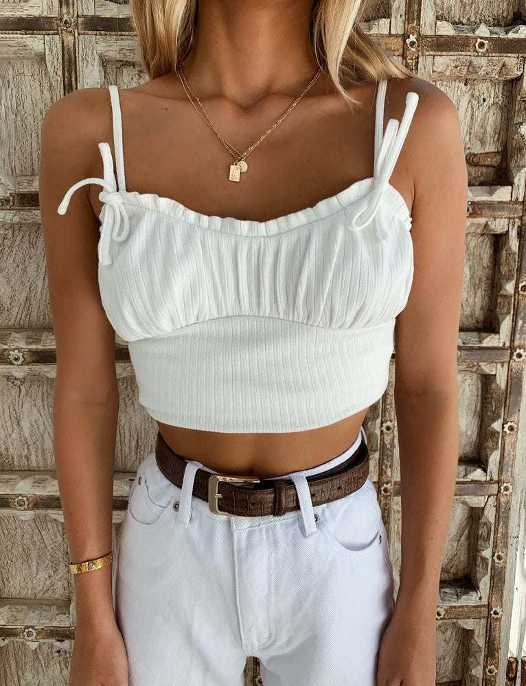Doreen Top - White