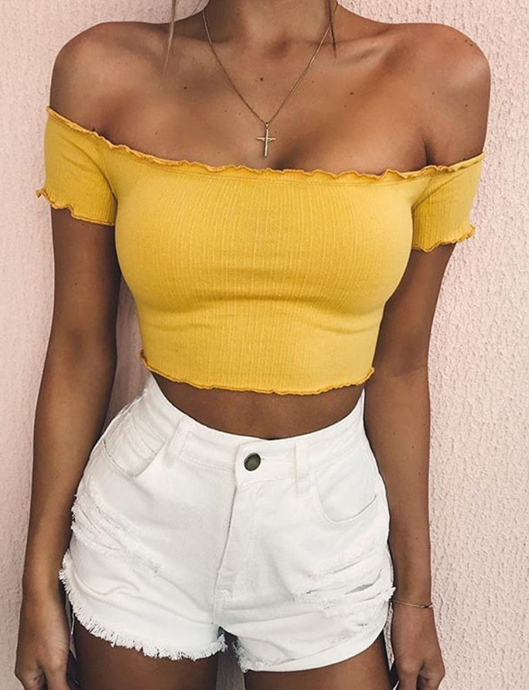 Pure Top - Yellow