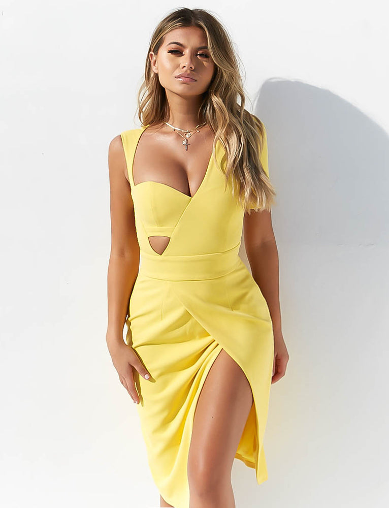Tyra Dress - Yellow