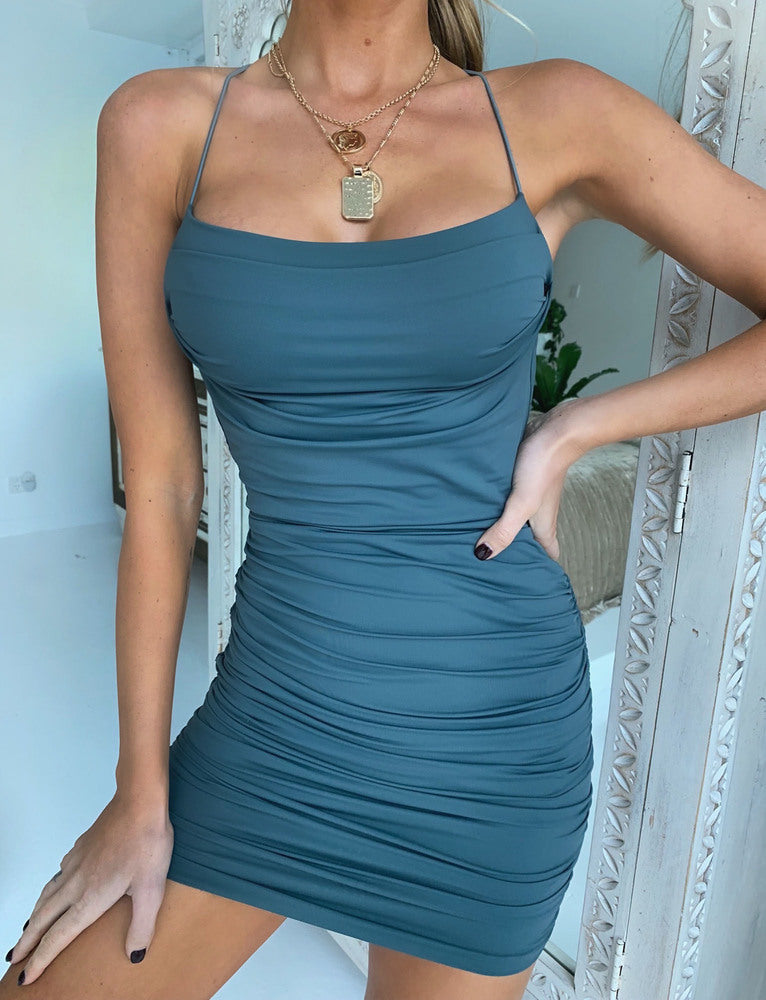 Reese Dress - Steel