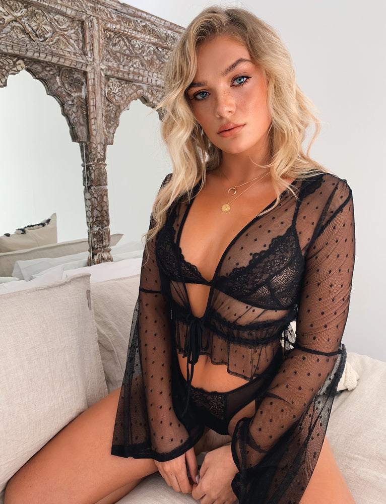 Love Letter Intimates Set - Black