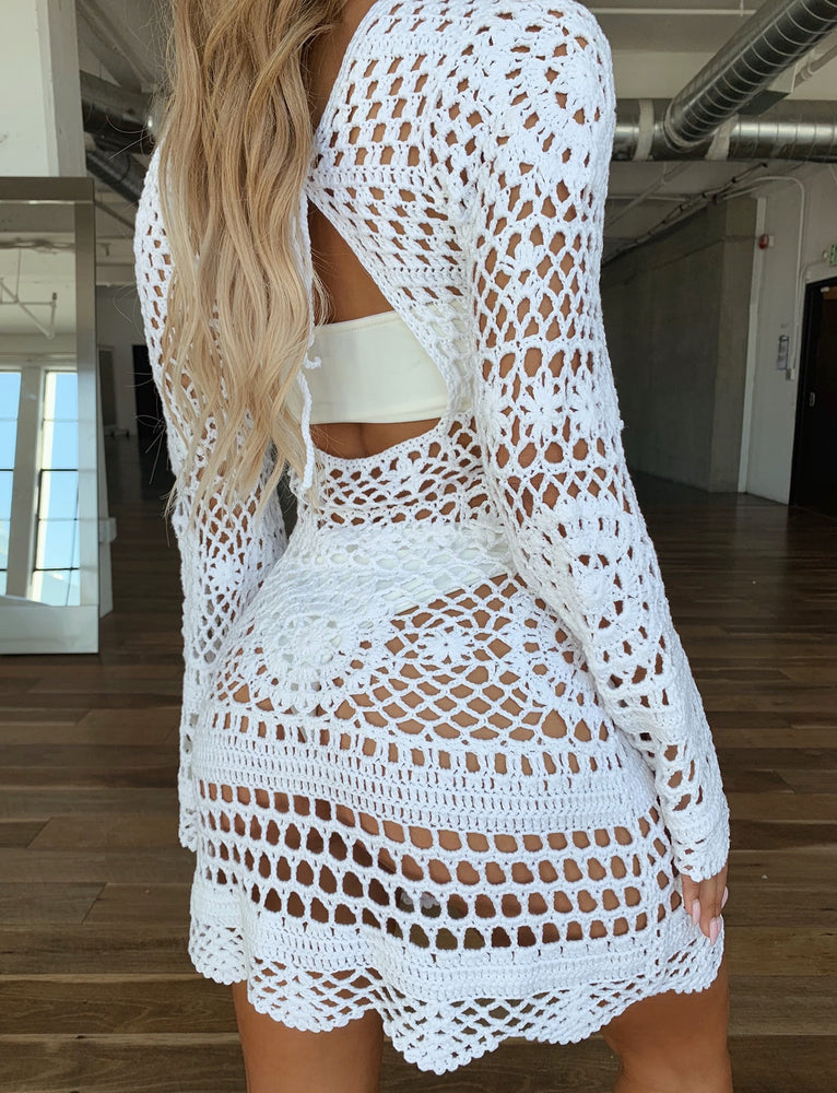 Nix Dress - White