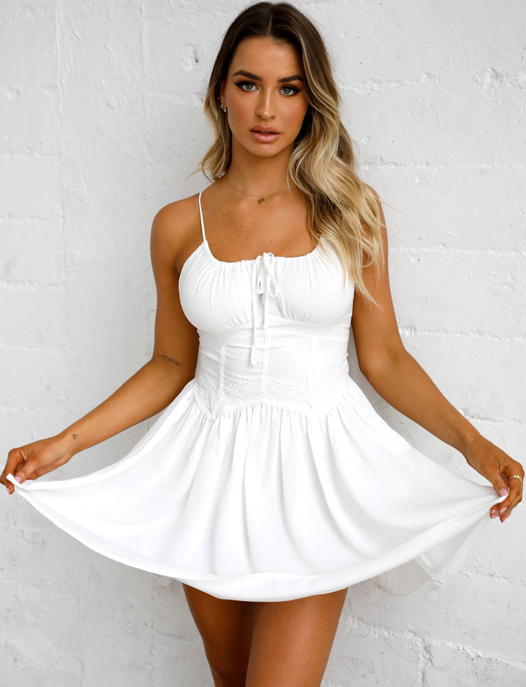 Ruben Dress - White