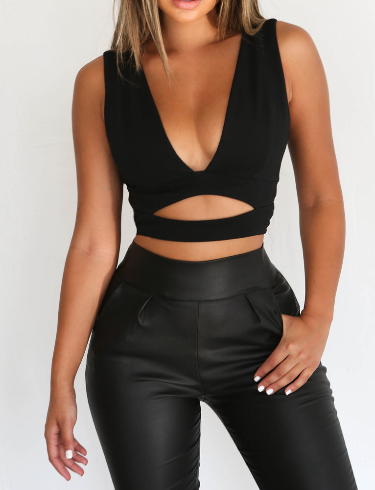 Reece Top - Black