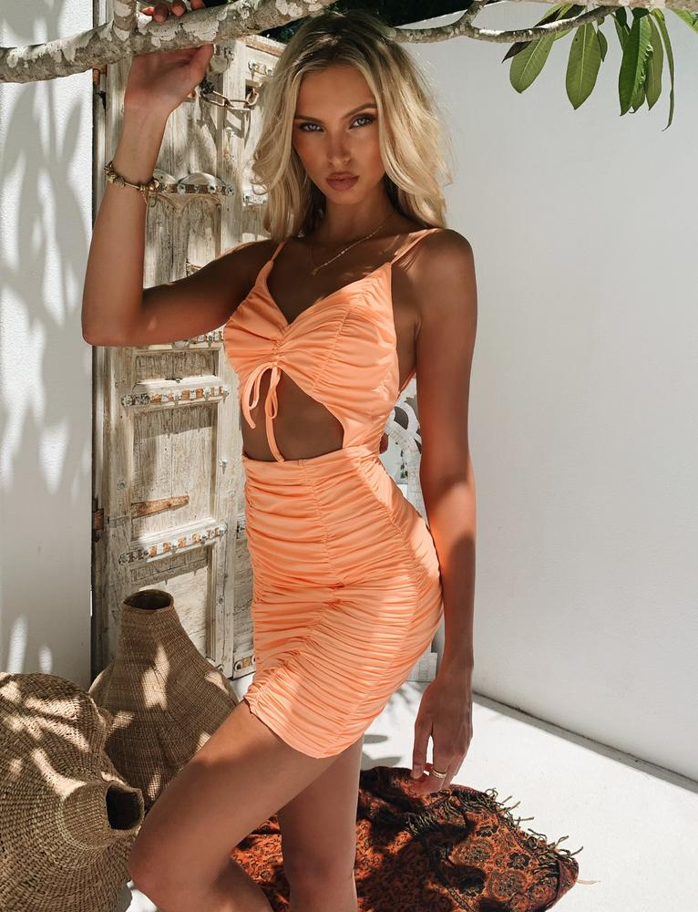 Tanja Dress - Orange