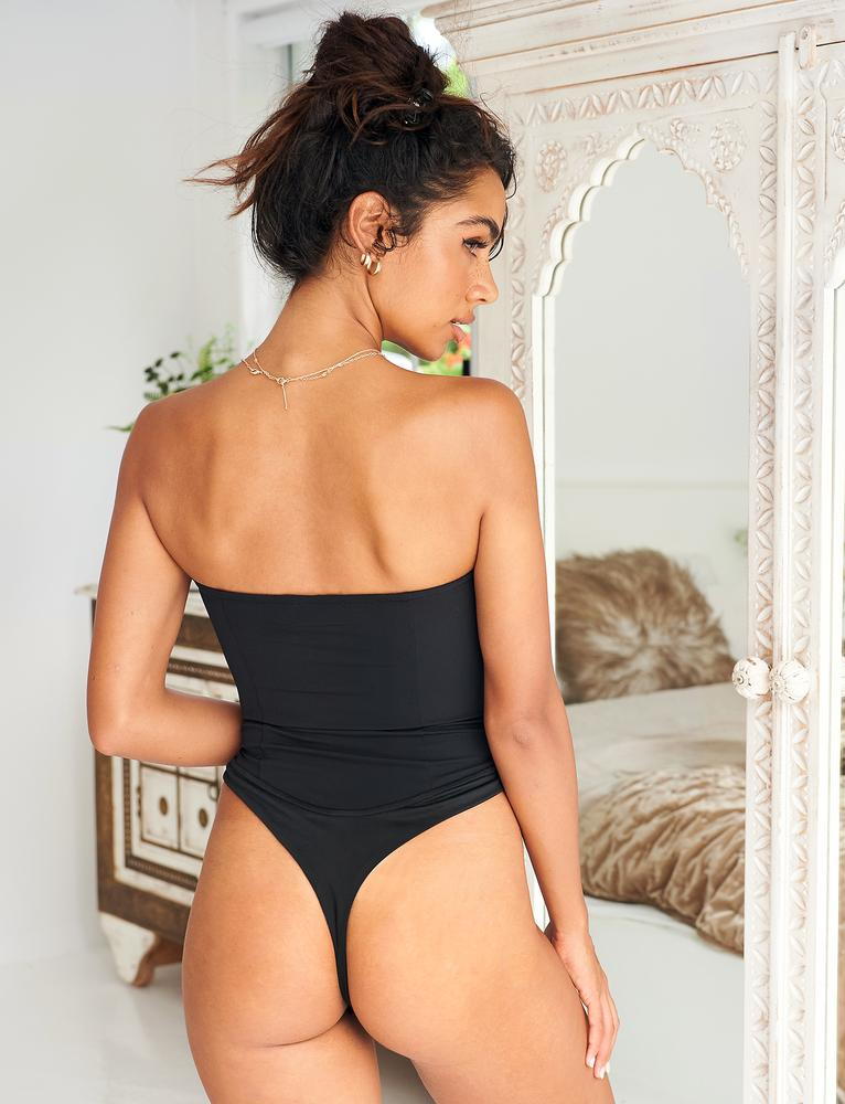 Alvida Bodysuit - Black