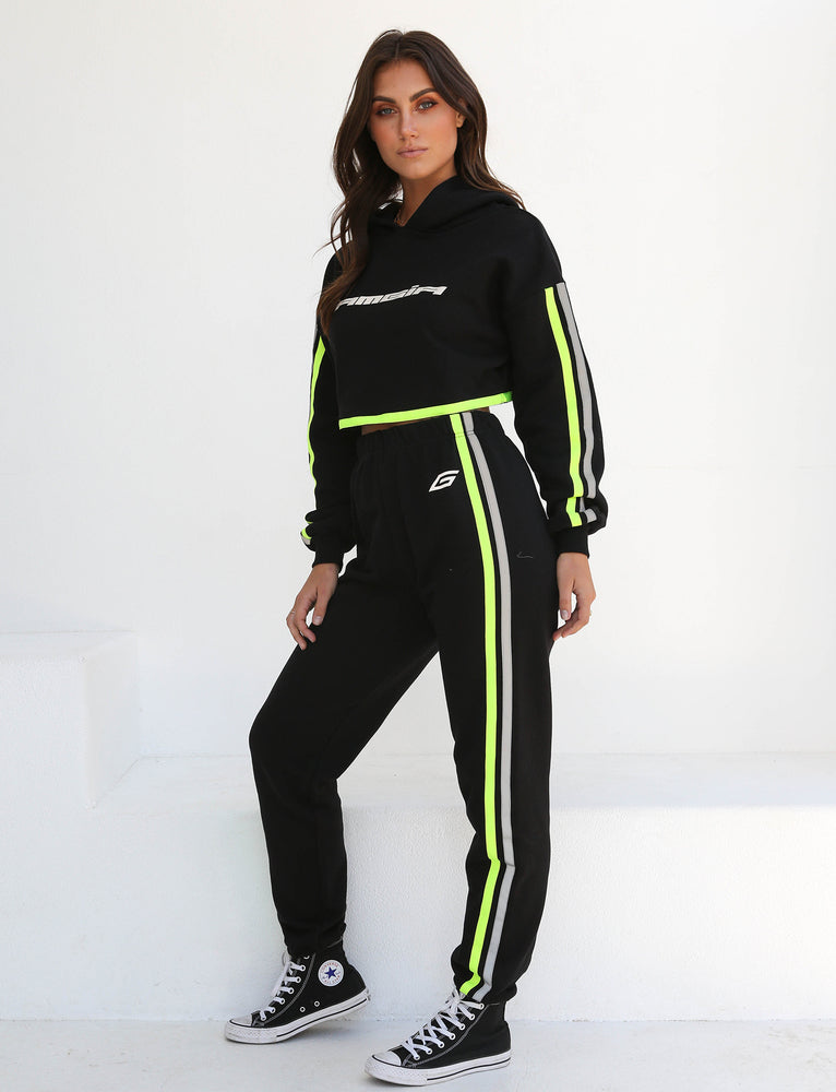 Mercury Pant - Black With Neon