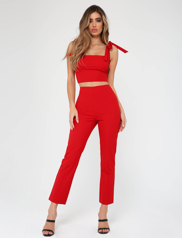 Kinsley Pant - Red