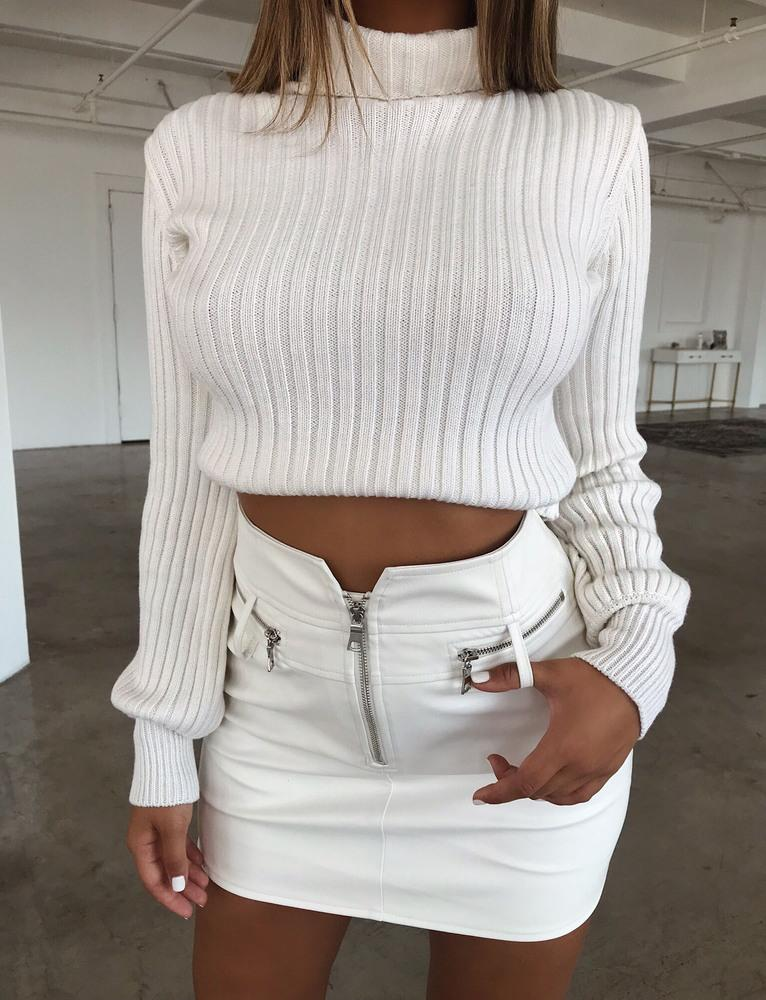 Mackenzie Jumper - White