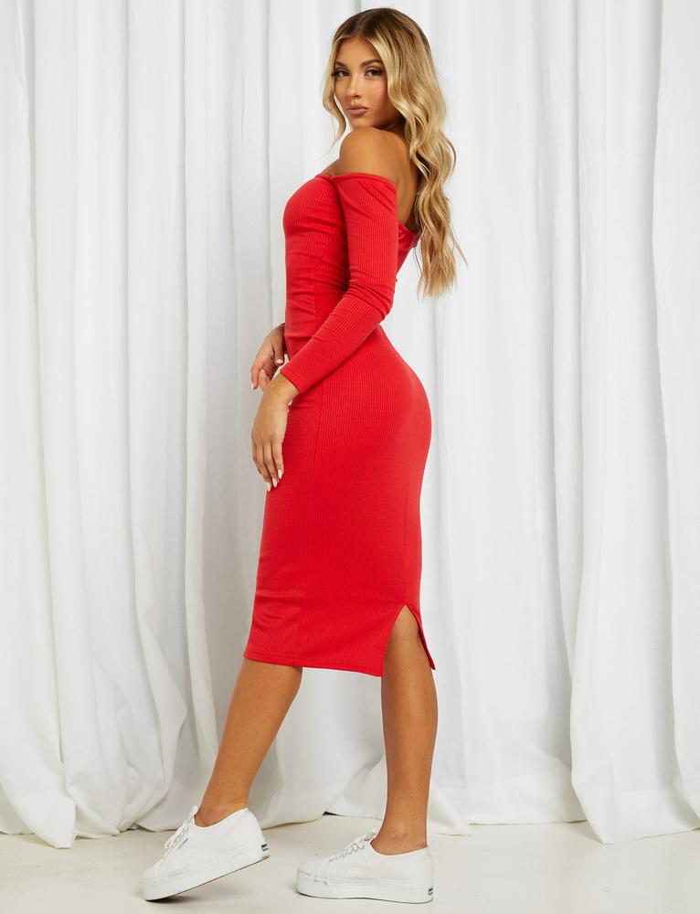 Corbin Dress - Red