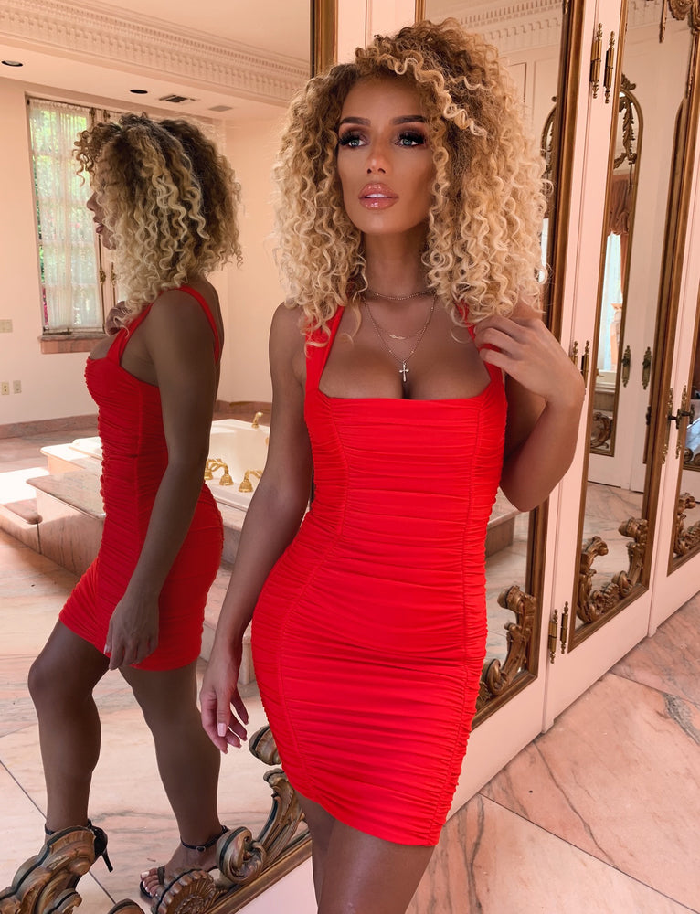 Tilly Dress - Red