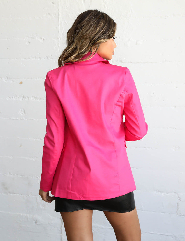 Cosmo Blazer - Pink