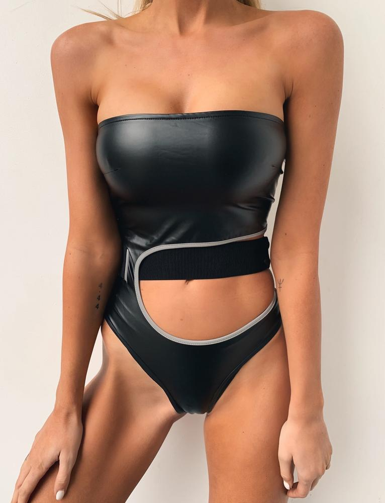 Nasha Bodysuit - Black