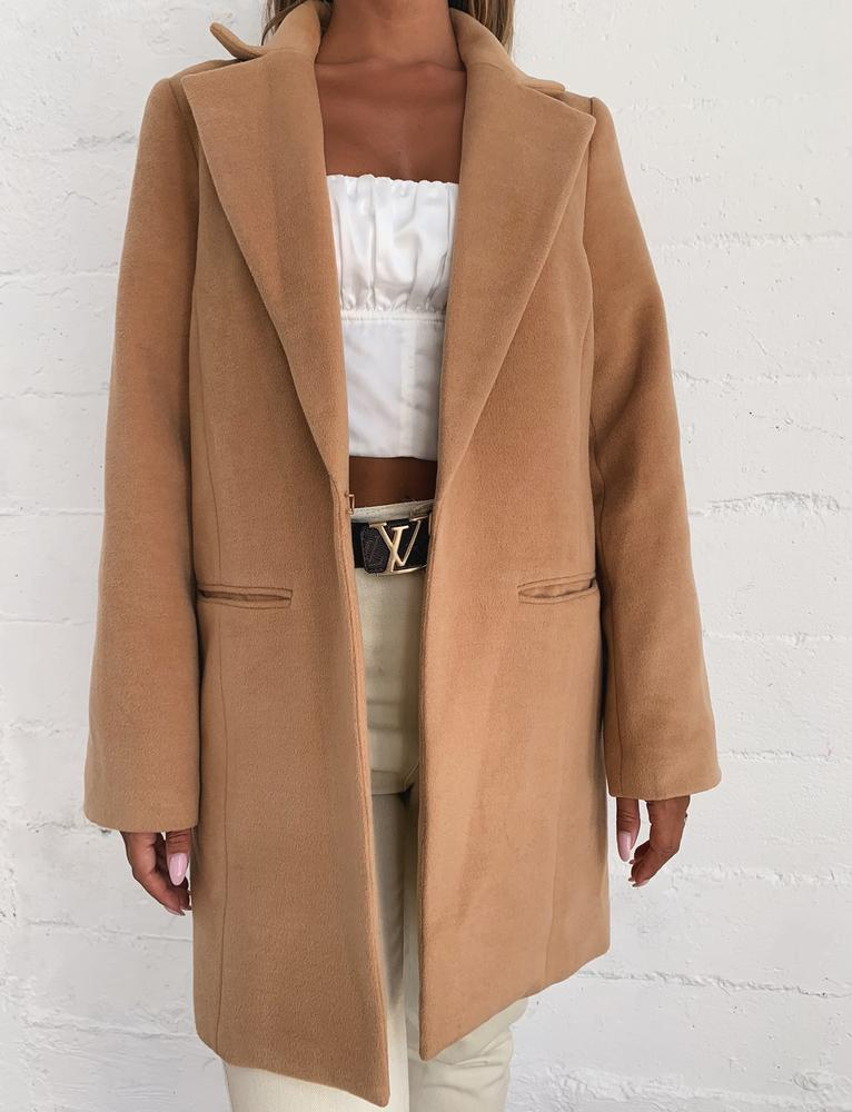 Spence Coat - Camel