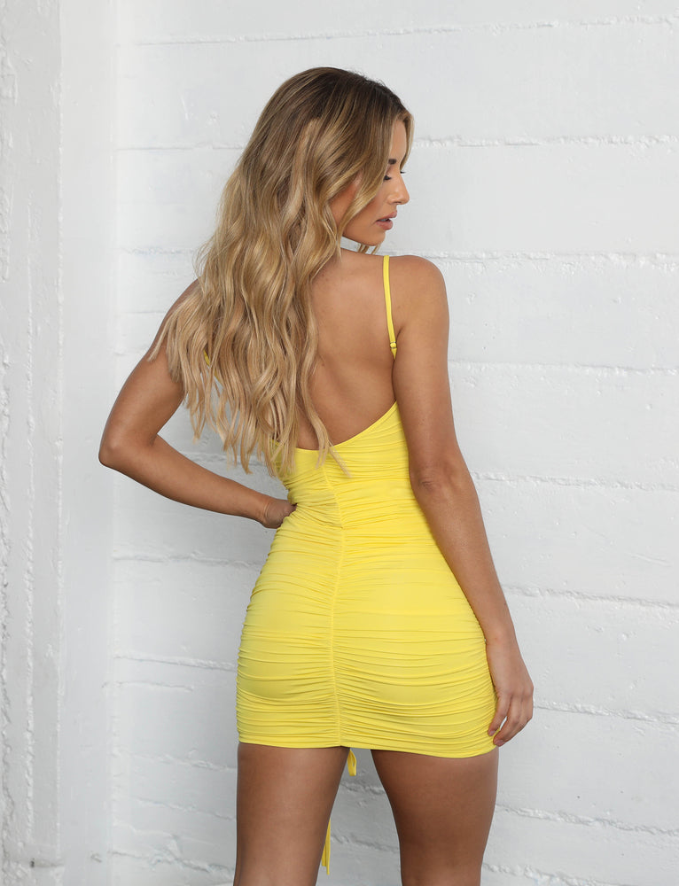 Zion Dress - Yellow
