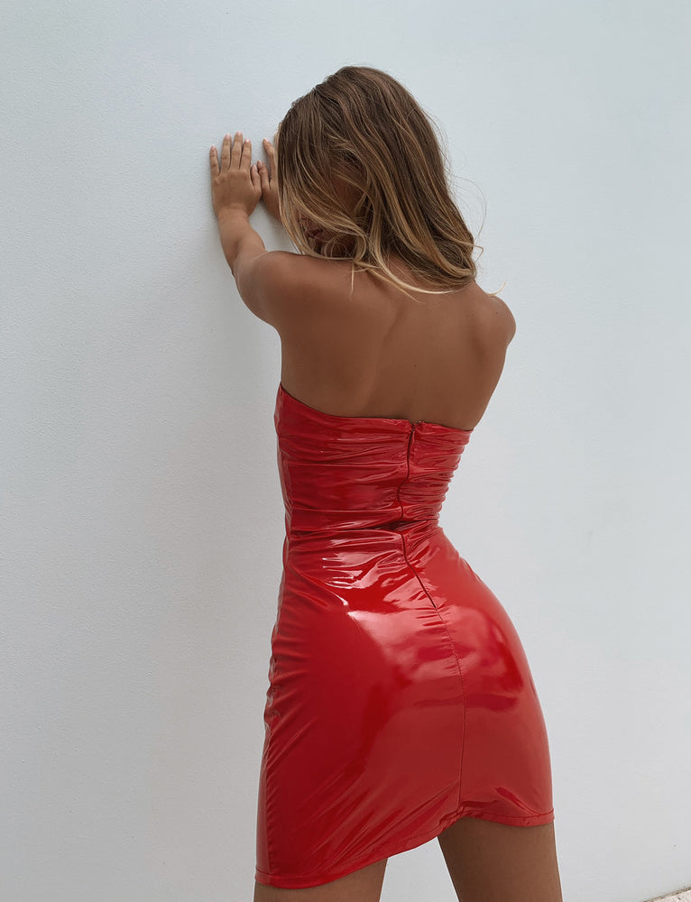 Kyra Dress - Red