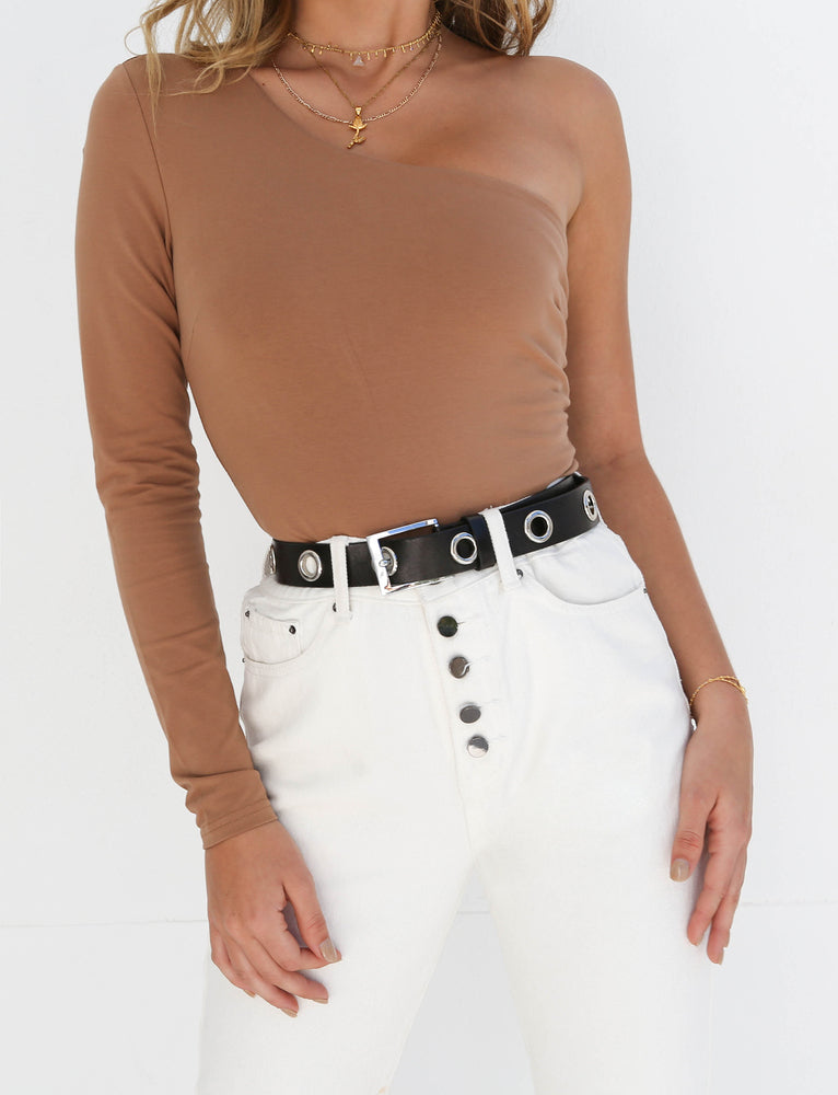 Hatty Bodysuit - Tan