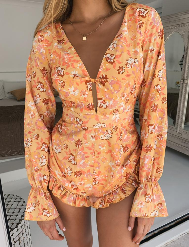 Zurie Playsuit - Floral