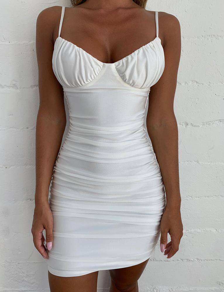 Pastilla Dress - White