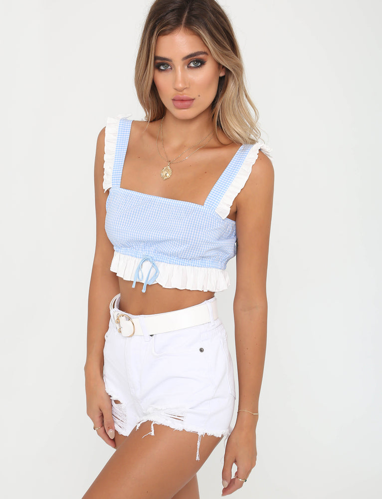 Bella Top - Blue
