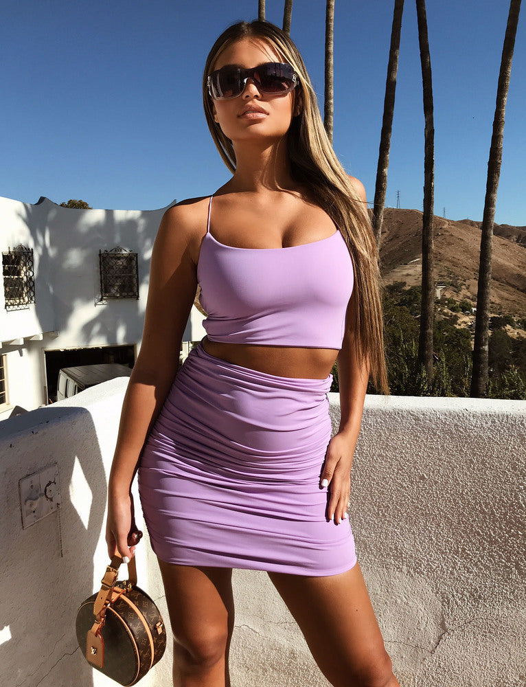 Bentley Crop - Lilac