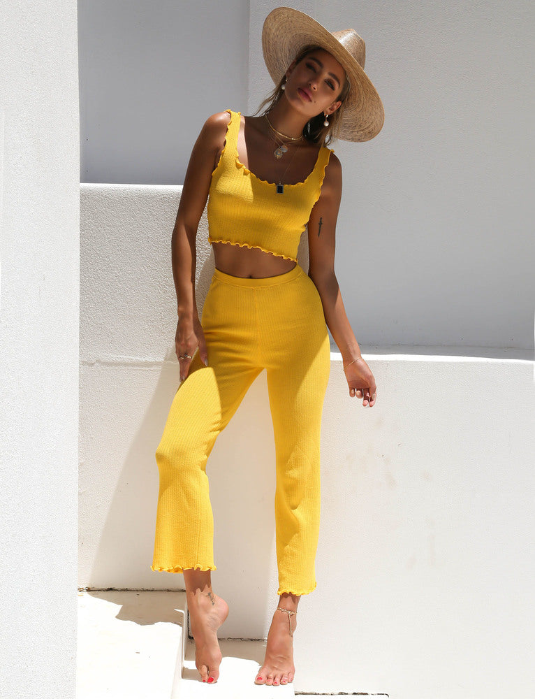 Ruby Pant - Yellow