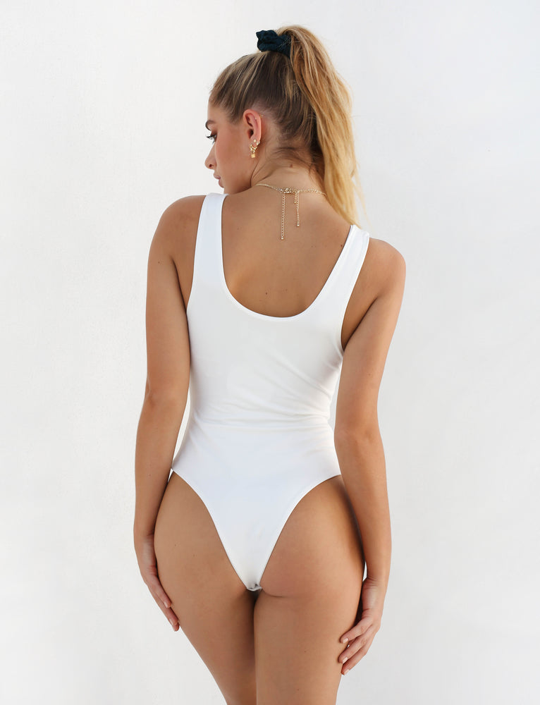 Everyday Bodysuit - White