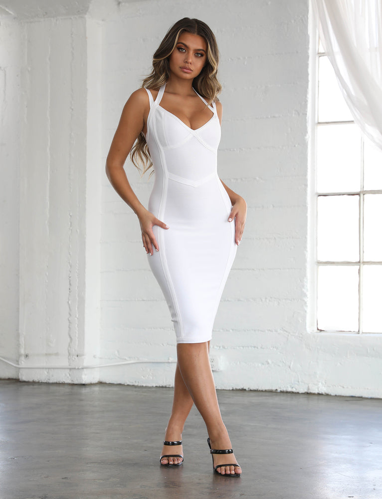 Wynter Dress - White