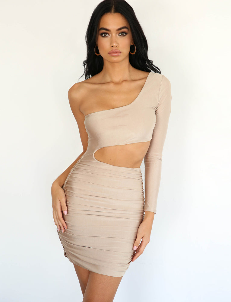 Sammi Dress - Champagne