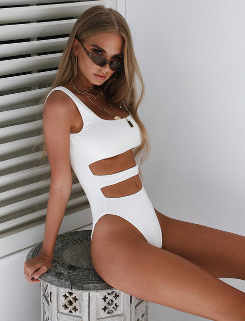 Veria Bodysuit - White