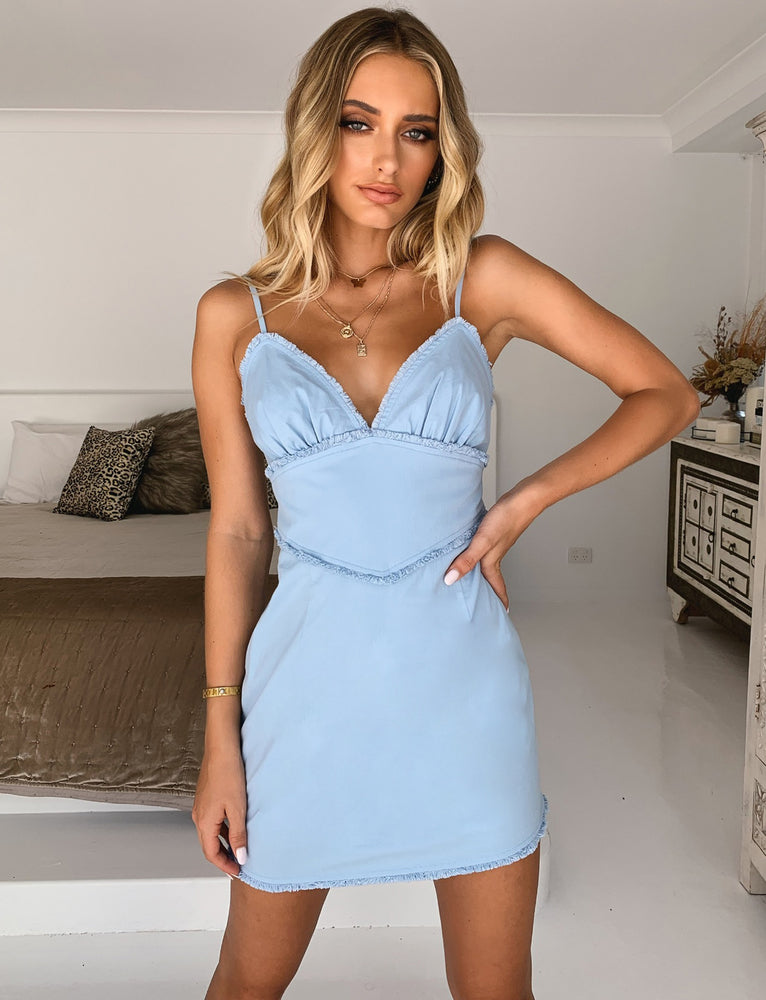 Aruba Dress - Blue