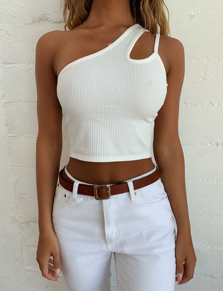 Enigma Crop - White