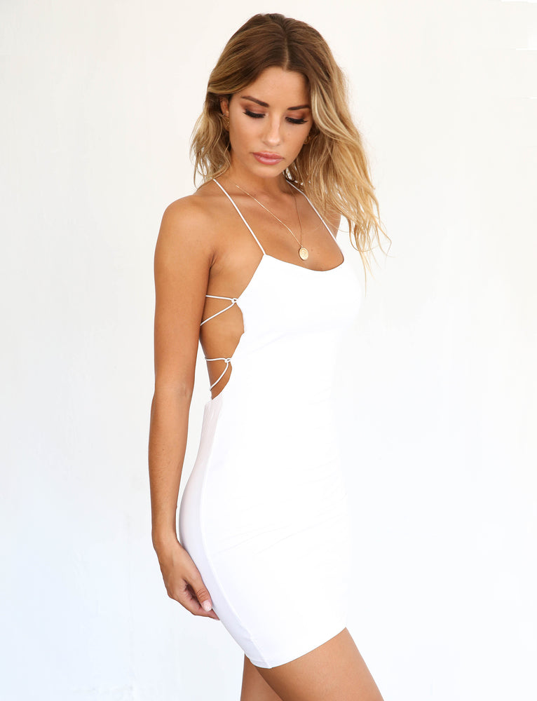 Bentley Dress - White